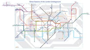 Map Of Time A Tube Map Of London U0027s Ghost Stations U2013 Now Here This U2013 Time