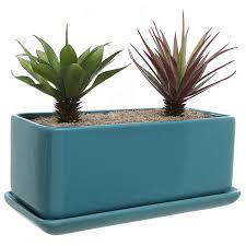 decoration ceramic garden pots and planters red ceramic outdoor