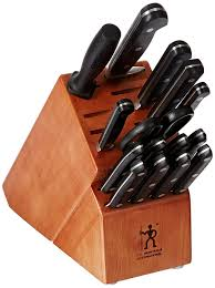 amazon com j a henckels international classic 16 pc knife block amazon com j a henckels international classic 16 pc knife block set j a henckels kitchen knife set kitchen dining