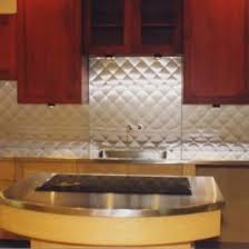 Custom Stainless Steel Backsplash Emmolo Stainless Steel - Custom stainless steel backsplash