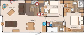 new hshire classic 40 x 16 2 bed sleeps 4 floor plan small house plans with shop decohome