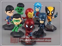marvel cake toppers cake toppers figures marvel dc comics superheroes 8 pcs