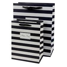 black and white striped gift bags black and white striped gift bags black and white striped gift