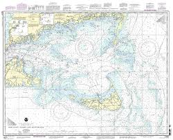 Nantucket Map Amazon Com 13237 Nantucket Sound And Approaches Fishing