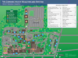 Pratt Map West Haven Campus Va Connecticut Healthcare System