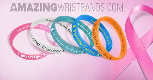 design silicone bracelet images Cancer awareness silicone bracelets by colors and types jpg