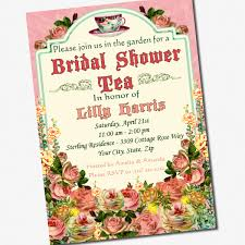 tea party bridal shower invitations lilbibby com