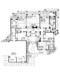 spanish style house plans spanish style home plan with