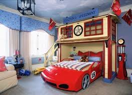 Best Bunk Beds Images On Pinterest Children Nursery And Woodwork - Race car bunk bed