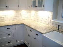 subway tile backsplash ideas for the kitchen kitchen cool subway