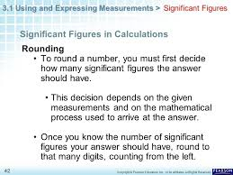 Calculations Significant Figures Worksheet Answers Chapter 3 Scientific Measurement 3 1 And Expressing