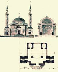 Floor Plan Of A Mosque by Stambouline The Lost Mosque Of Moscow