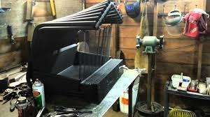fireback fireplace grate heater furnace custom gra youtube
