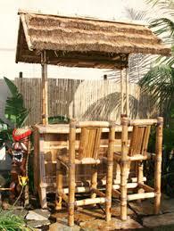 Tiki Home Decor Tiki Bar U2013 Thatched Roof U2013 Bamboo Sign U2013 Bamboo And Tikis