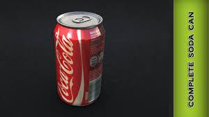 autodesk maya 2014 complete soda can modeling youtube