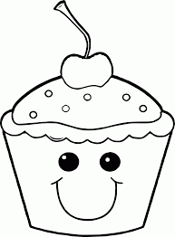cute cupcakes coloring pages coloring home