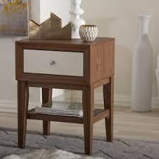 Shaker Style Nightstand Mid Century Nightstands U0026 Bedside Tables Shop The Best Deals For