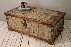 brass trunk coffee table reclaimed trunk coffee table antique indian turquoise blue wood iron