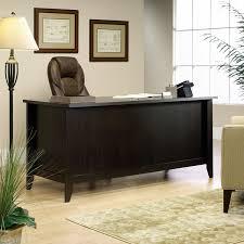 Executive Office Desks Amazon Com Sauder Shoal Creek Executive Desk In Diamond Ash