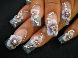 best nail art 2016 3d nail art flowers youtube