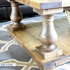 Unfinished Wood Coffee Table Legs Writehookstudio Com