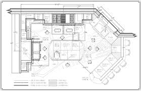 layout of commercial kitchen