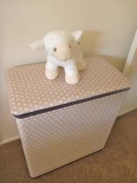 Baby Laundry Hamper by Baby Nursery Cool Dirty Clothes Hampers For Baby Beige Polka Dot