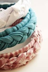 fabric headbands braided hairband crafts diy headband headband