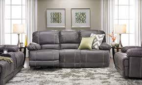 Real Leather Recliner Sofas by Sofas Center Bastille Power Reclining Sofa With Drop Down Table