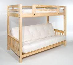 Futon Bunk Bed Wood Liberty Futon Bunk Bed Frame Unfinished Price