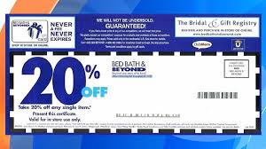 bed bath bridal registry bed bath and beyond might be getting rid of 20 percent