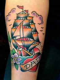 172 best boat tattoos images on pinterest arbors boat tattoos