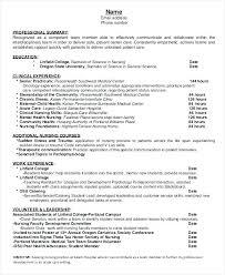 student nurse practitioner resume exles nurse practitioner resume template pediatric nurse resume sle