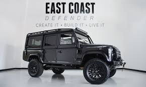 white land rover defender ecd automotive design custom land rover defender shop