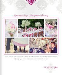 wedding planner magazine a franciscan gardens wedding a ritz carlton wedding featured in