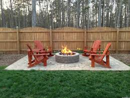 Patio And Firepit by Tww Paver Patio Grill Firepit Getting Quotes