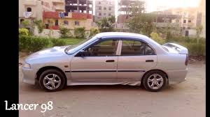 mitsubishi lancer 1998 youtube