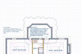 How To Do A Floor Plan by First Floor Flat Roof That Is Seen In Second Floor As Walls In