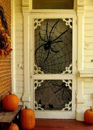 decoration attractive halloween door decorating ideas design
