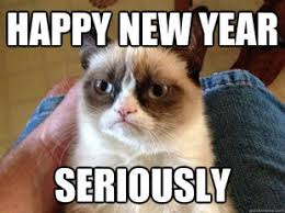 Happy New Year Cat Meme - true book addict true to books catthursday wishes for a happy