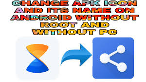 apk icon changer how to change apk icon and its name on android no root all4you