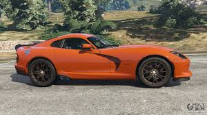 Dodge Viper V12 - dodge viper srt 2014 for gta 5