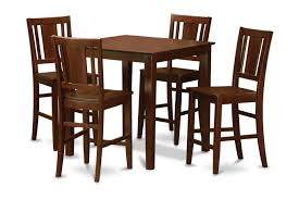 counter height dining table countertop tables and chairs 6 with