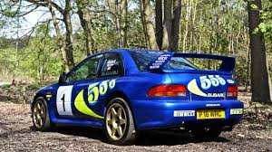 subaru sti rally car colin mcrae u0027s iconic wrc subaru for sale motoring research