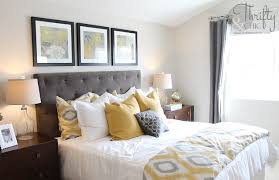 grey and yellow home decor thrifty and chic diy projects and home decor gray and yellow bedroom