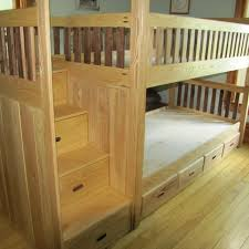 Bunk Bed Wooden Custom Bunk Bed By Weber Wood Designs Custommade