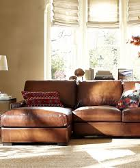 Distressed Leather Sofa Brown Modern Leather Sofa Ideas For Modern Living Room Hupehome