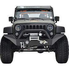 jeep bumper 07 16 jeep wrangler jk r7 full width front bumper