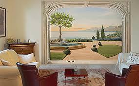 trompe l oeil chambre décoration murale design ou trompe l oeil belmon déco poster