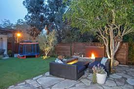 Trampoline Backyard Cute Backyard Trampoline Ideas Also To Trampolines In In Ground